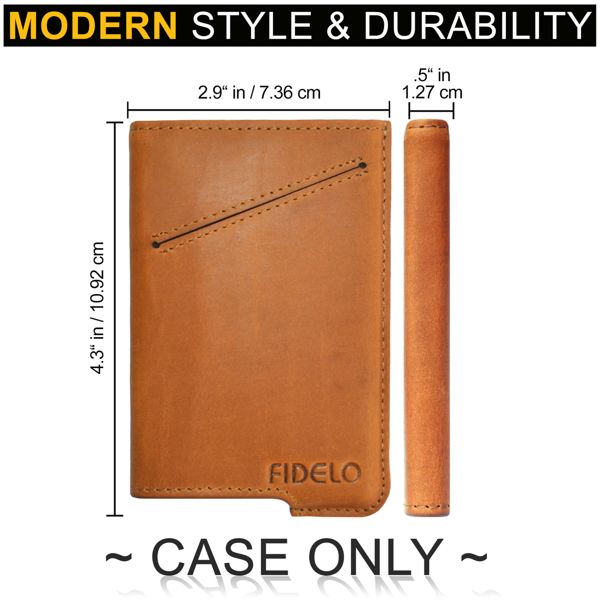 HYBRID CASE ONLY - Desert Tan Crazy Horse Leather