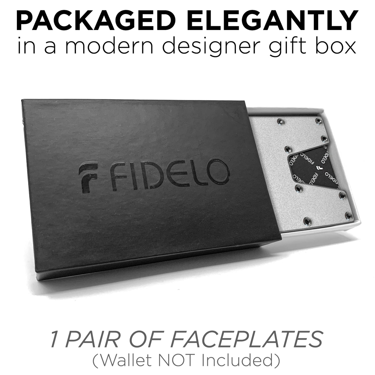 FACEPLATES ONLY / Silver (Wallet NOT Included)