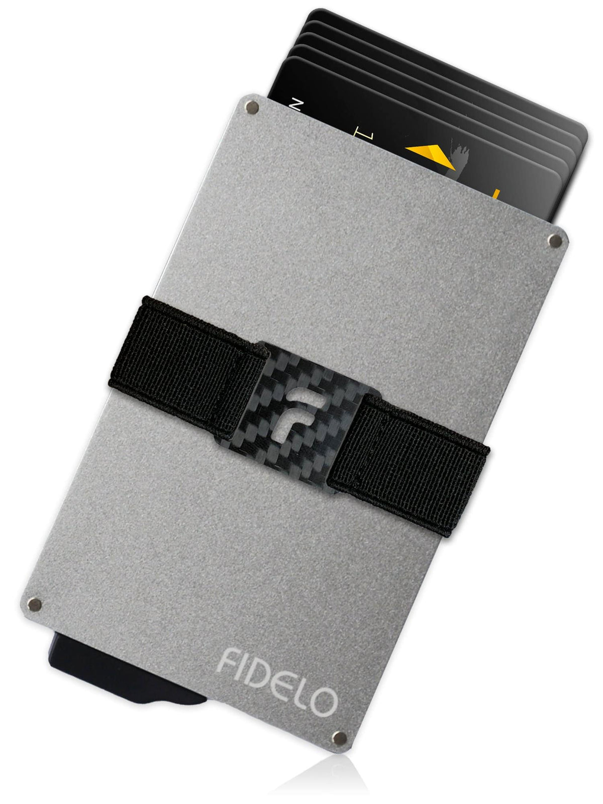 HYBRID WALLET ONLY - Silver Aluminum
