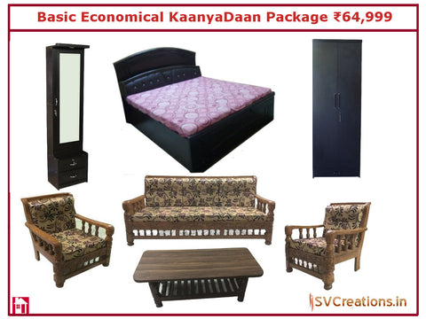 Basic Economical KaanyaDaan Package