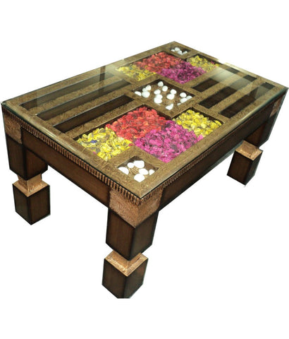 Flower Center Table