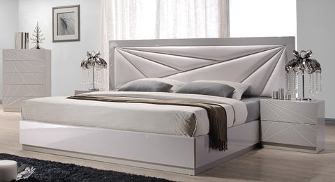 Jasmine Designer Bed with Side Tables