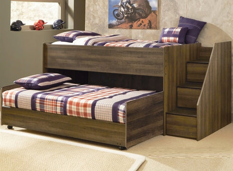 Sliding Double Height Bed