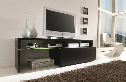 Black Contemporary TV cabinet