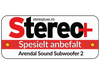 Arendal Sound 1723 Subwoofer 2 test, Stereo+