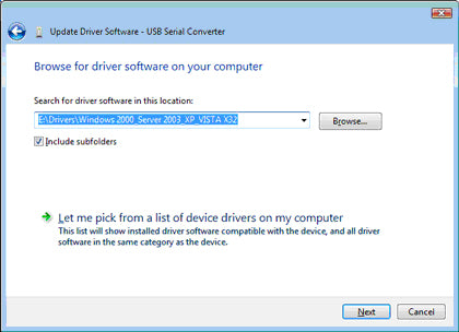 USB Driver Installation Guide – CommFront