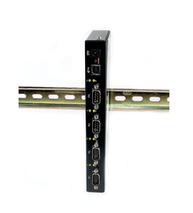 USB to RS232 Hub (4-Port / Industrial)