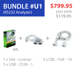 Advanced Serial Protocol Analyzer (Bundle #U1)