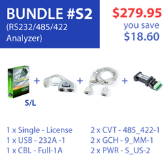Advanced Serial Protocol Analyzer (Bundle #S2)