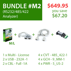 Advanced Serial Protocol Analyzer (Bundle# M2)