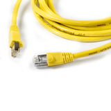 RJ45 FTP CAT-6 Cable with Spring Protector - Yellow