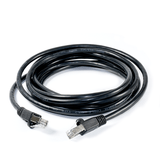 RJ45 FTP CAT-5e Cable with Spring Protector - Black