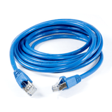 RJ45 FTP CAT-5e Cable with Spring Protector - Blue