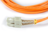 16ft (5m) LSZH Fiber Optic Patch Cord - MM / ST-SC