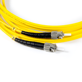 10ft (3m) LSZH Fiber Optic Patch Cord - SM / ST-SC