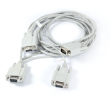 Full-Duplex RS232 Monitor / Control Cable