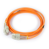 10ft (3m) LSZH Fiber Optic Patch Cord - MM / SC-SC