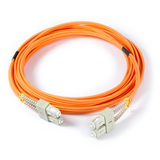 16ft (5m) LSZH Fiber Optic Patch Cord - MM / SC-SC