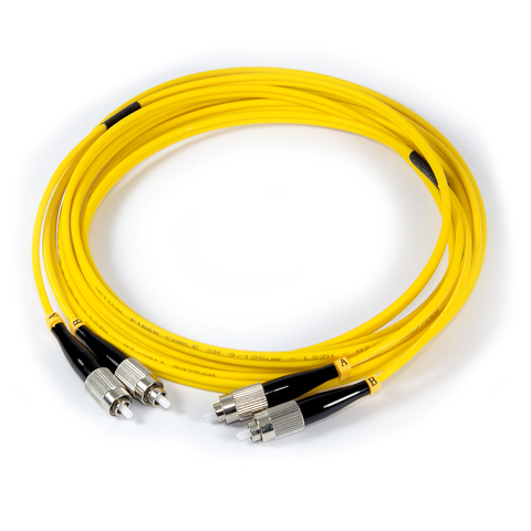 10ft (3m) LSZH Fiber Optic Patch Cord - SM / FC-FC