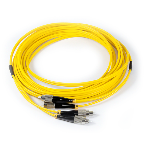 16ft (5m) LSZH Fiber Optic Patch Cord - SM / FC-FC