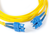 16ft (5m) LSZH Fiber Optic Patch Cord - SM / SC-SC