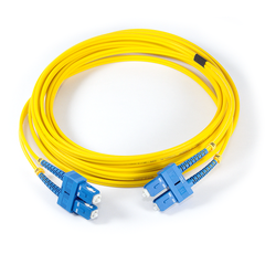 16ft (5m) LSZH Fibre Optic Patch Cord - SM / SC-SC - Yellow