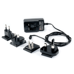 Meanwell 5VDC Power Supply with International Plugs (used for TTL-485-2; TTL-485_422-2; RPT-485_422-2; USB-HUB-2)