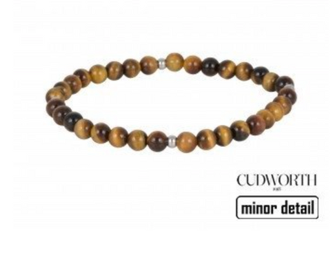 Cat Eye mens beaded bracelet