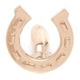 Rose Gold Horse Shoe Cufflink