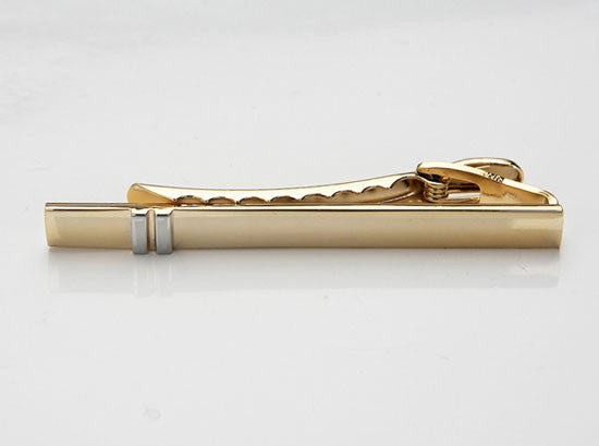 Tie Bar in Gold and Rhodium