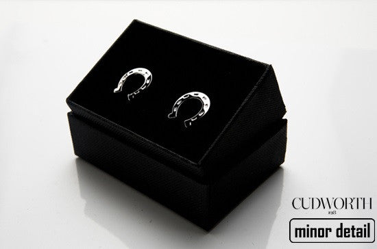 Stainless Steel Horse Shoe Cufflinks
