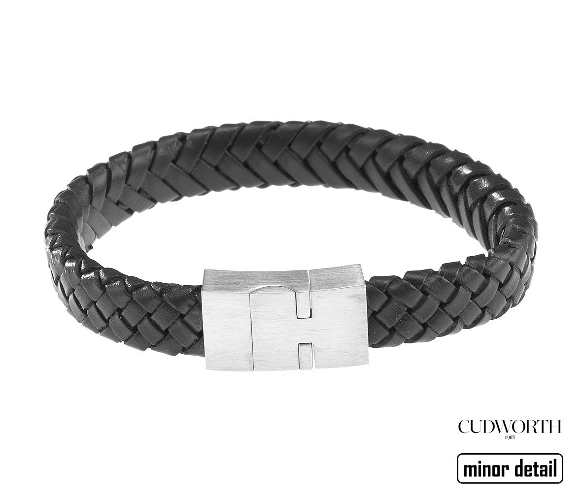 New Mens Leather Bracelet by Cudworth Sydney.