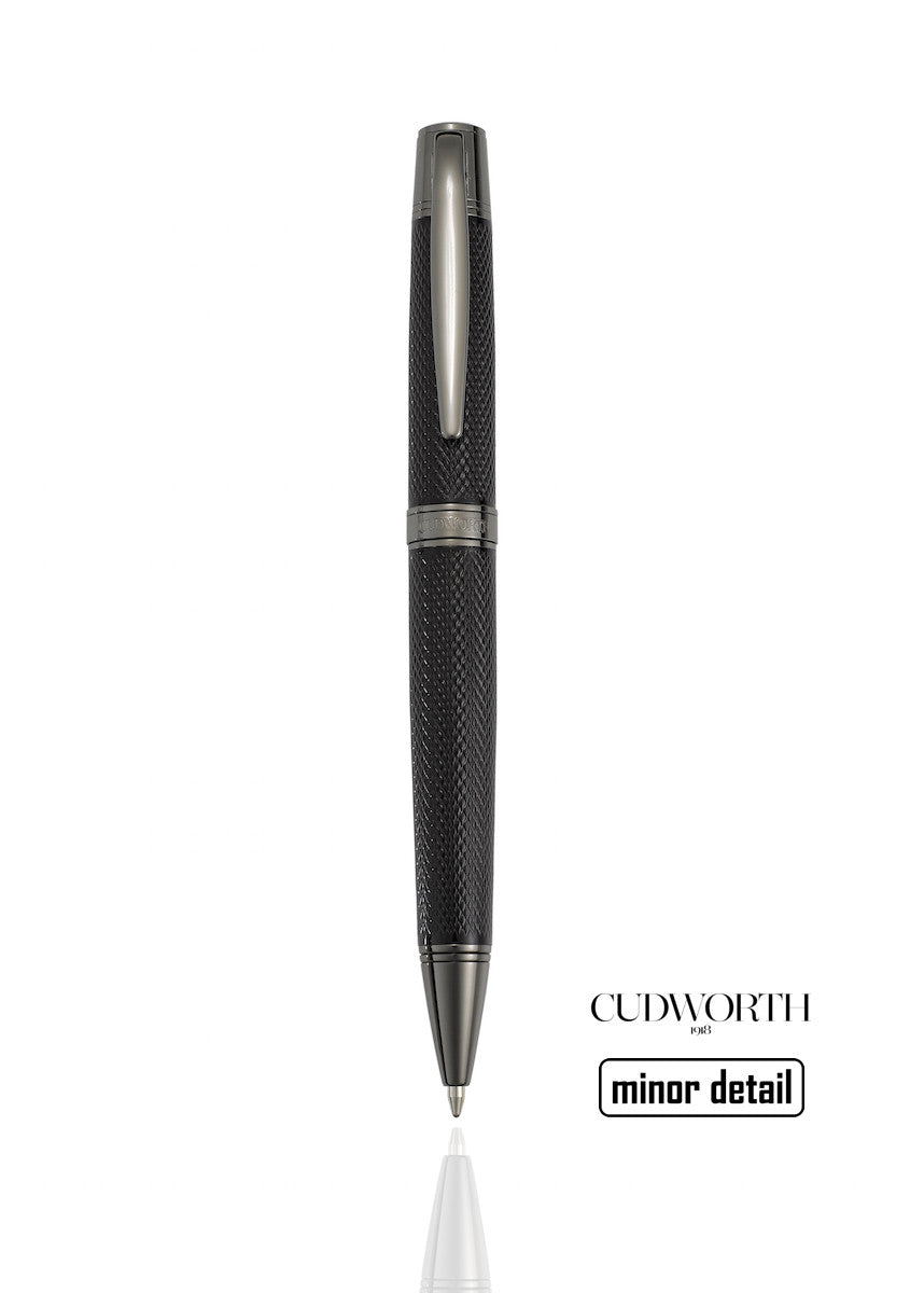 Black Chrome Pen by Cudworth