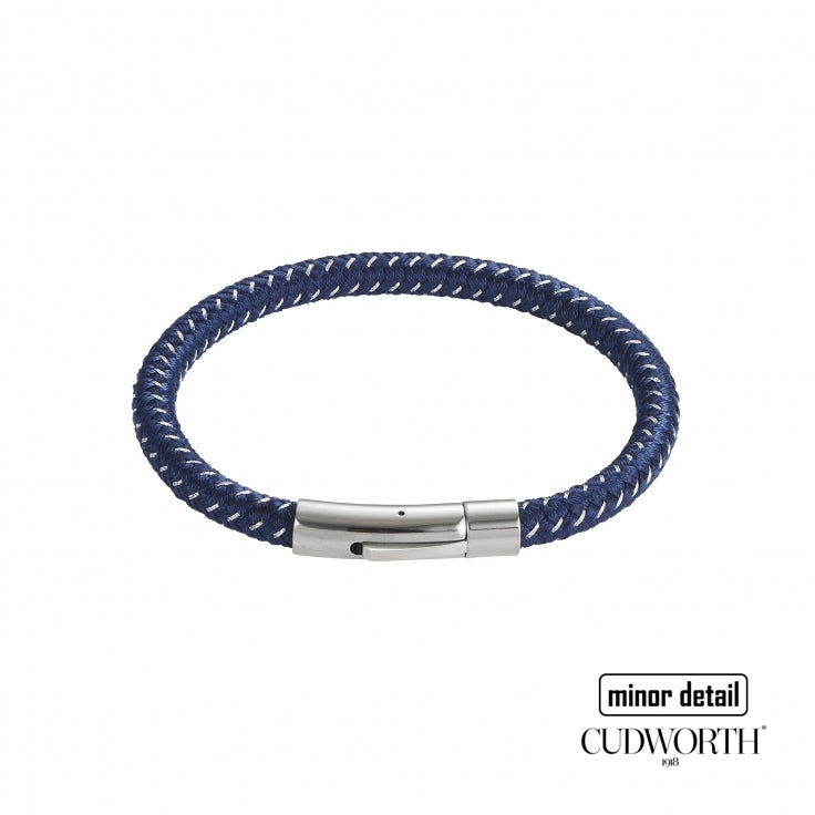 Men's Blue Cable Weave Bracelet by Cudworth Jewellery Australia