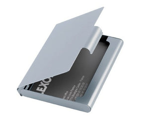 Lexon Business Card Holder in Silver