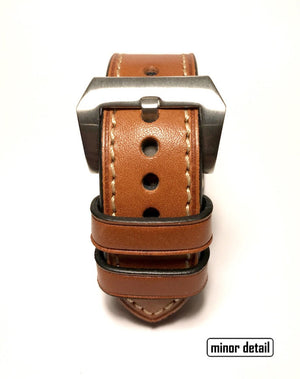 42 mm leather apple watch strap