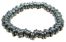 Guys Bracelet in Washer Link Steel by Cudworth