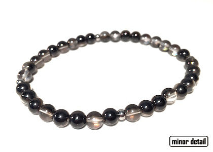 Mens Glass Beaded Bracelet