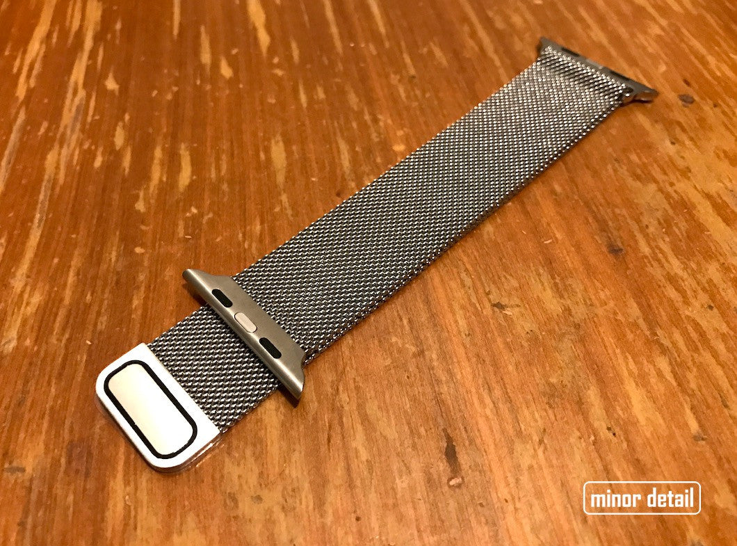 Milanese loop steel apple watch band 42mm