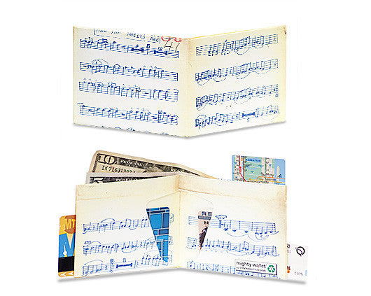'Music Sheet' Slim Wallet