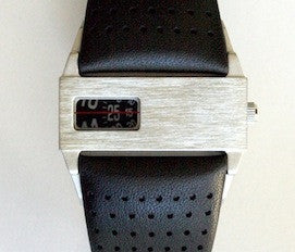 Nero Odessey Watch Perforated Leather