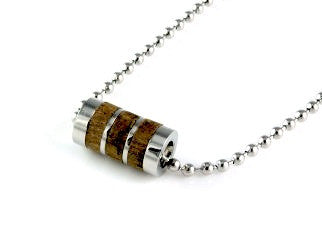 Wood Necklace by Cudworth