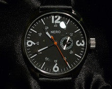 Nero Lisbon Big Face Watch