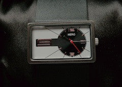 Nero Manhattan Watch