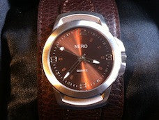 Nero Wide Band Watch
