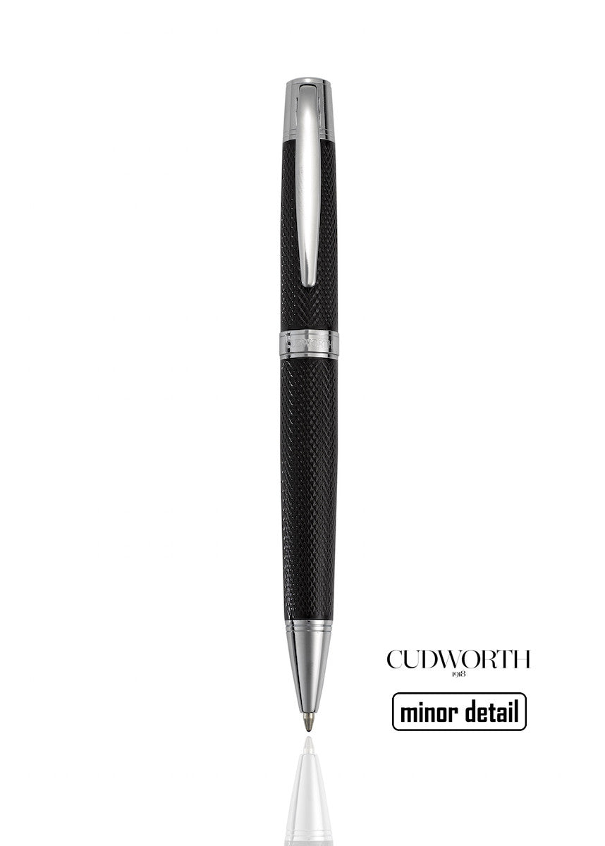 Cudworth Mens Pen black mesh design