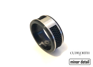 Rubber Ring Mens Jewellery by Cudworth