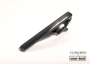 Gun Metal Tie Bar by Cudworth Men's Jewellery