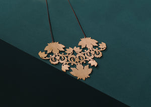 The Triple Maple Neckpiece