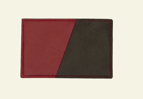 The saya pocket cardholder, handcrafted leather gifts for men